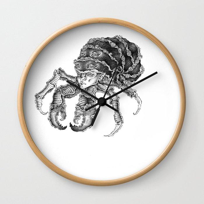 hermit crab Wall Clock