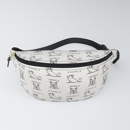 Inhale Exhale Frenchie Fanny Pack