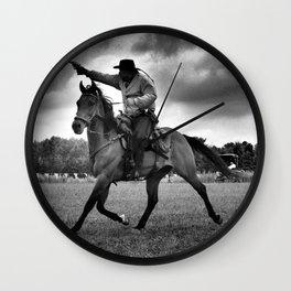 Cowboy Ghostrider  Wall Clock