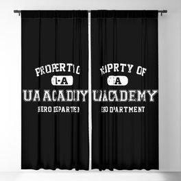 Property of UA Academy Blackout Curtain