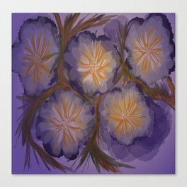 Saddest Flower Canvas Print