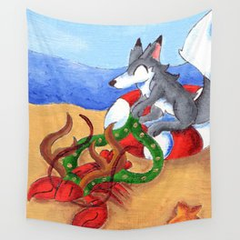 On, Seafarer! Wall Tapestry