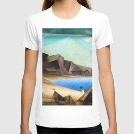 The High Shore by Lyonel Feininger T-shirt