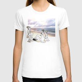 Girlfriends at the Beach T-shirt