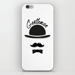 Gentleman iPhone Skin