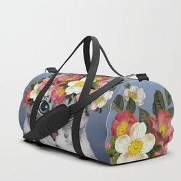 Hippie Cat 1 Duffle Bag