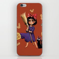 Kiki and Jiji iPhone & iPod Skin