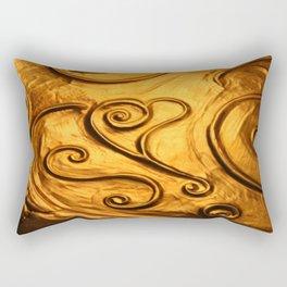 Copper Heart Rectangular Pillow