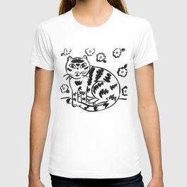 Wallflower Cat T-shirt