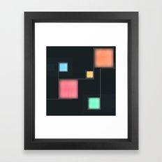 Squares #6 Framed Art Print