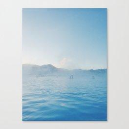 Steamy Blue Lagoon, Iceland Canvas Print