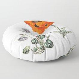 Poppy fantastic  Floor Pillow