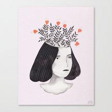 Flower Head II Canvas Print
