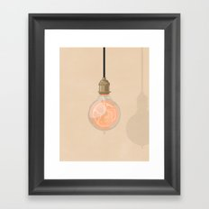 All Possible Worlds Framed Art Print