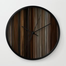 Pulp Fiction Movie Barcode Wall Clock
