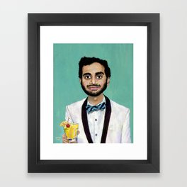 AZIZ Framed Art Print
