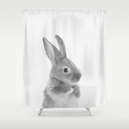 Little Rabbit Shower Curtain