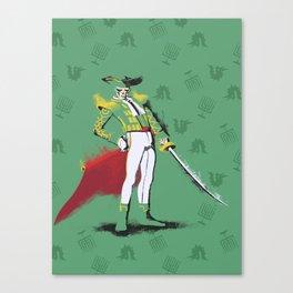 Shin Megami Tensei - Fiend Matador Alt. Canvas Print