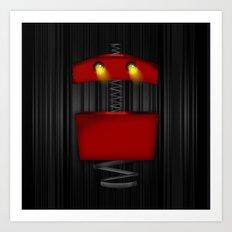 Tin Droid Art Print