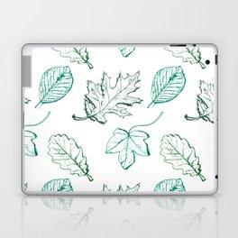 Leaves (aquamarine) Laptop & iPad Skin