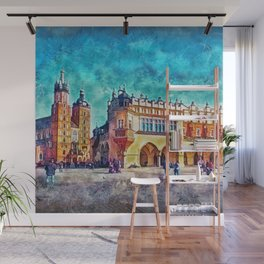 Cracow Main Square Wall Mural