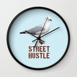 Street hustle Wall Clock