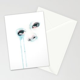Cold Stare Stationery Cards