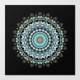 Mandala antique jewelry Canvas Print