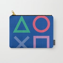 Playstation poster, this is for the players, videogame illustration , Play station, videogames art Carry-All Pouch