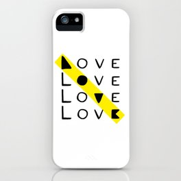 LOVE yourself - others - all animals - our planet iPhone Case