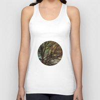 psychadelic Tank Tops featuring Psychadelic Tree by Jeanne Hollington