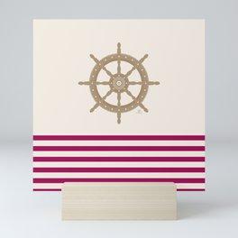 AFE Nautical Helm Wheel 2019 -3 Mini Art Print