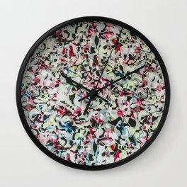 Shopping Mall Mural Wall Clock