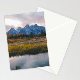 Grand Teton Sunset Stationery Cards