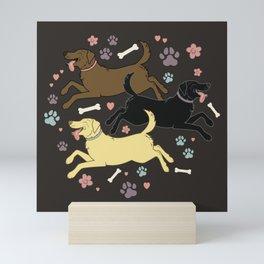 Lab Love (2) Mini Art Print