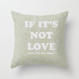 best of (ask-the Smiths) Throw Pillow