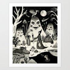Outcry of the Island Art Print