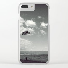 I'll never stop trying Clear iPhone Case