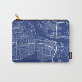 Little Rock, USA - Blue Carry-All Pouch