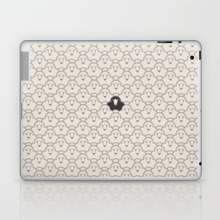 Black Sheep Laptop & iPad Skin