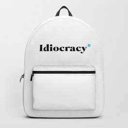 Verified Idiocracy Backpack