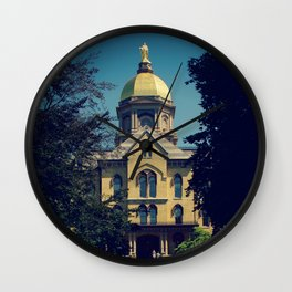 Golden Dome Wall Clock
