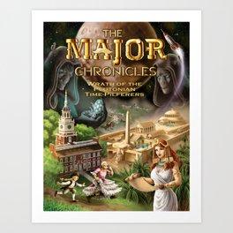 Major Chronicles II True Color Art Print