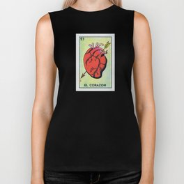 Vintage El Corazon Tarot Card Heart Love Artwork, Design For Prints, Posters, Bags, Tshirts, Biker Tank