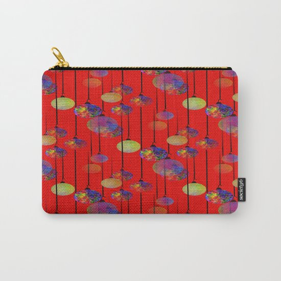 Christmas Frills Carry-All Pouch
