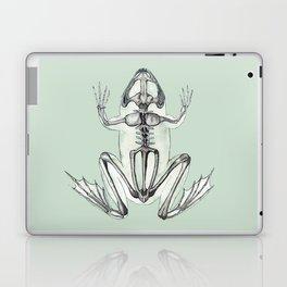 Frog Skeleton: Animal Anatomy Laptop & iPad Skin