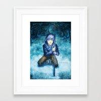 jack frost Framed Art Prints featuring Jack frost by keiden