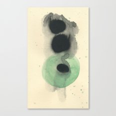 Cosmic Green Light Canvas Print