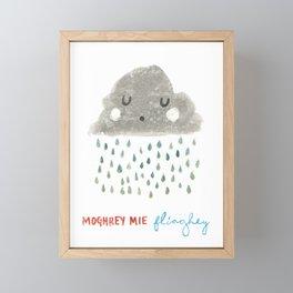 Moghrey Mie Fliaghey Framed Mini Art Print