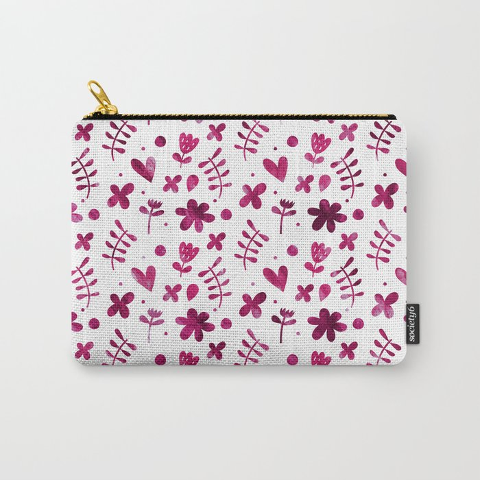 Colorful Lovely Pattern IV Carry-All Pouch